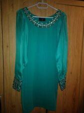 Elegant Women Rhineston Collar Dress
