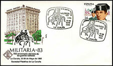 España 1983 objetos de interés militar Cubierta militar #C40125
