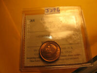 Canada 1940 Gem Certified ICCS MS-64 Small Cent Penny IDJ276.
