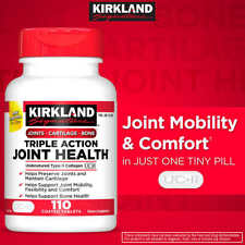 Kirkland Triple Action Joint Health, 110 Tablets,Compare to Move Free Ultra 2020