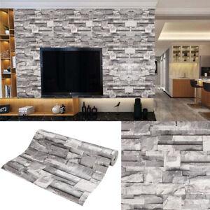 3D Neu  Tapete Wandpaneele Selbstklebend Ziegel Steinwand  wandbilder Wasserfest