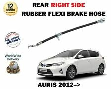 FOR TOYOTA AURIS 1.6 1.8 2012--> 1X REAR RIGHT SIDE RUBBER FLEXI BRAKE HOSE