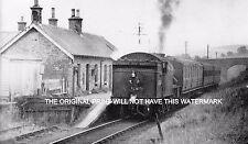 HEXAM TRAIN TARSET STATION NORTHUMBERLAND 1956 MOUNTED PRINT RAILWAY NOSTALGIA
