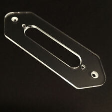 Guitar Parts CONVERSION PICKUP MOUNT RING - P90 Dog Ear Telecaster Neck - CLEAR