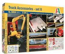 Italeri 3854 Truck Accessories Set 2 w/ Pivoting Crane and chrome parts 1/24