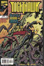 NIGHTHAWK  #3 1998 MARVEL -BATTLE FOR DAREDEVIL LIFE- WIACEK/KRUEGER...VF