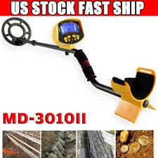 Metal Detector Gold Digger Finder Deep Sensitive Waterproof Hunter w/Lcd Display