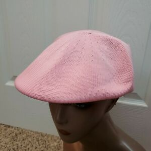 New w/ Tags Kangol Tropic 7100 Flat CapPink Hipster Newsboy Hat