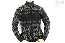Diadora Jacket 80s Bold - All over Logo - Black / White