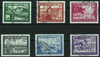 THIRD REICH Mi. #773-778 used stamp set! CV $38.50