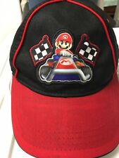 Mario Kart Hat Nintendo 2012 Pre Owned - Cleaned -Youth