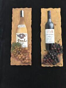 Wine Wall Decor set of 2