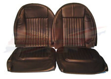 New Seat Cover Kit Set for Triumph Spitfire 1973-1980 Black Made in the UK