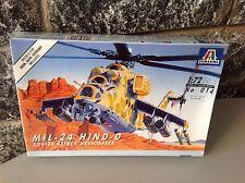 ITALERI  vintage KIT  1/72,MIL-24 HIND-D # factory sealed