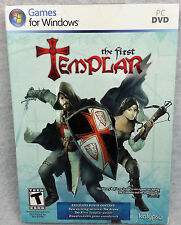Sealed THE FIRST TEMPLAR Games for Windows PC DVD Kalypso RATED T Teen NEW