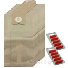 10 x Vacuum Dust Bags For Nilfisk Family GD1000 Hoover Bag + Fresh