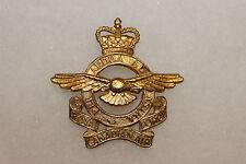 Original 1950s-1960s Royal Canadian Air Force (RCAF) Cap/Hat Badge w/Pin