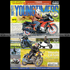 YOUNGTIMERS MOTO 12 SUZUKI RV 90 VAN VAN MOTOBECANE 50 V KAWASAKI GPZ 750 TURBO