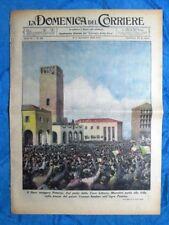 La Domenica del Corriere 11 novembre 1939 Mussolini - New York - V. Emanuele III