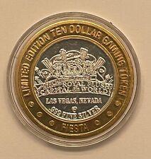 Fiesta $10 Dollar Gaming Token 999 Pure Silver Coin