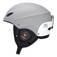 Demon Phantom Ski Helmet with Brainteaser Audio NEW snowboard Black Grey White