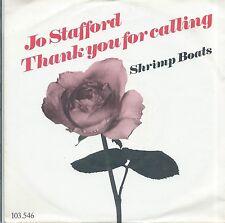 "7"" Vinyl Single Jo Stafford Thank You For Calling, Goodbye"