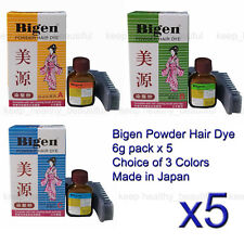 Japan Made Bigen Powder Hair Dye 6g Brown Black (b) Post