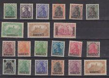 Germany Saar mint 1920 lot S-20006