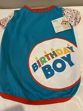 You & Me Birthday Boy T-Shirt for Dogs Large New With Tag