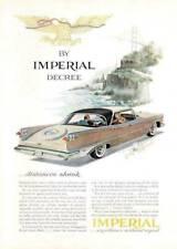 1959 CHRYSLER IMPERIAL Magazine Print AD (107)