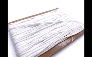 2mm white Blind Cord for Roman, Austrian & Festoon curtain string pull Free P&P