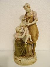 Grosse Alte Figur von Royal Dux Jugendstil  ca. 49 cm.