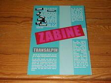 Zabine-TransAlpin/lawine PROMO-FASCICOLO 2001 (din-a-4)