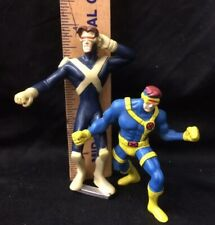 Vintage Marvel X-men Cyclops Lot: Hardee's 1995 & Burger King 2001