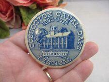Vtg 1973 Coshocton Canal Days Festival button. Johnson-Humrickhouss Museum