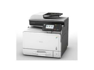 Lanier MP C305SP Color Laser Multinational Printer with Low Page Count 56200.