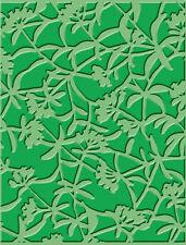 Embossing Folder - Cuttlebug Emboss A2 - Color: Floral Screen