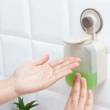 Automatic Soap Dispenser Wall Mounted Liquid Container With Pump Vacuum Sucker