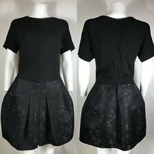 Rare Vtg Balenciaga Black Short Dress