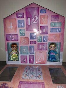 Disney Store Frozen 2 Advent Calendar with Elsa & Anna Animator Mini Dolls