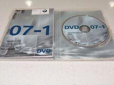 Bmw Europe Satellite Navigation Disc Sat Nav Dvd Set 07-1 High T1000-11162