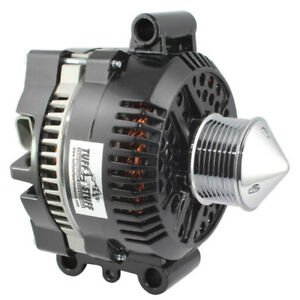 Tuff Stuff Alternator 7768DPBULL; 3G 225 Amp Polished for 92-04 4.6/5.4L MOD