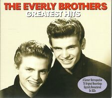 THE EVERLY BROTHERS GREATEST HITS - 3 CD BOX SET - BYE BYE LOVE, PROBLEMS & MORE