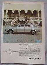 1966 Ford Zodiac Original advert No.1