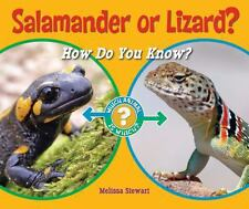 Salamander or Lizard?: How Do You Know? (Which Animal Is Which?)-ExLibrary