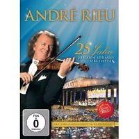 ANDRÉ RIEU - 25 JAHRE JOHANN STRAUSS ORCHESTER JUBILÄUM DVD POP KLASSIK NEUF