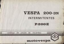 Vespa 200 DN - Manual de taller en CD