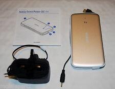 Nokia Dc-11 Portátil Cargador Con Fino Pin Y Micro Usb salidas + Red Cargador