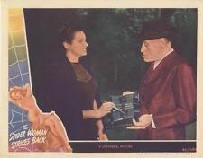 """THE SPIDER WOMAN STRIKES BACK""-ORIGINAL LOBBY CARD-HORROR-RONDO HATTON-NEEDLE"