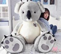 55'' Giant Large Animal Koala Bear Plush Soft Toy Stuffed Koalas Doll  Gift